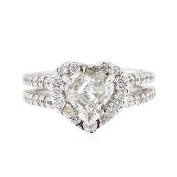 14KT White Gold 1.90 ctw Diamond Ring
