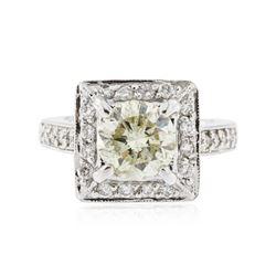 14KT White Gold 2.82 ctw Diamond Ring