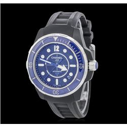 Ladies Chanel J12 Marine Stainless Steel Wristwatch