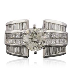 18KT White Gold 4.56 ctw Diamond Ring