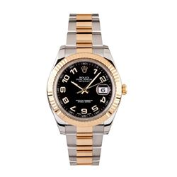 Gents Rolex Two Tone Gold DateJust Wristwatch
