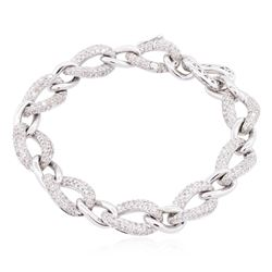 14KT White Gold 2.16 ctw Diamond Bracelet