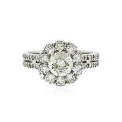 14KT White Gold 2.76 ctw Diamond Ring