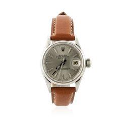 Ladies Rolex Stainless Steel DateJust Wristwatch