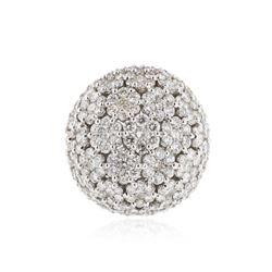 14KT White Gold 11.67 ctw Diamond Ring