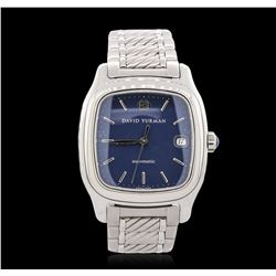Stainless Steel David Yurman Wristwatch