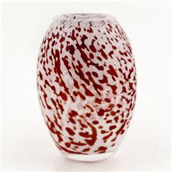 Original Hand-Blown Glass Vase by Novaro