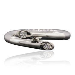 Platinum 0.09 ctw Diamond Ring