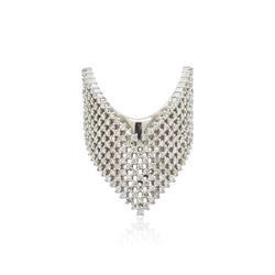 18KT White Gold 1.35 ctw Diamond Ring