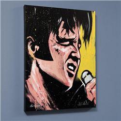 Elvis Presley 68 Special by  David Garibaldi