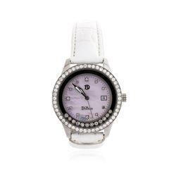 DiBur Stainless Steel Diamond Wristwatch