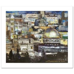Jerusalem at Dusk by  Alex Zwarenstein