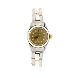 Ladies Rolex Two-Tone Oyster Perpetual Wristwatch