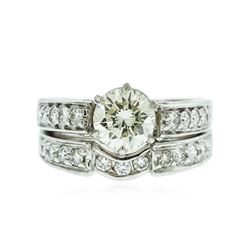 Platinum 2.95 ctw Diamond Ring