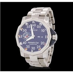 Gents Stainless Steel Corum Admirals Cup Wristwatch