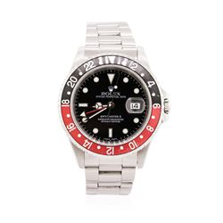 Gents Rolex Stainless Steel Date GMT-Master II Wristwatch