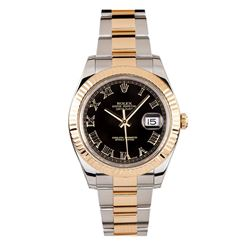 Gents Rolex Two Tone Gold DateJust II Wristwatch