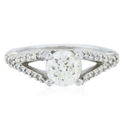 14KT White Gold 1.57 ctw Diamond Ring