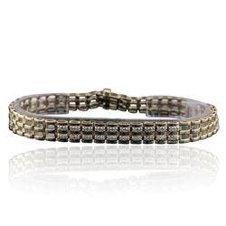 10KT Yellow Gold 0.20 ctw Diamond Bracelet
