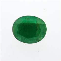 7.49 ct. One Oval Cut Natural Emerald