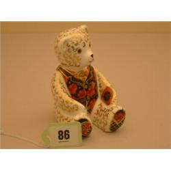 Royal Crown Derby teddy bear paperweight, made exclusively