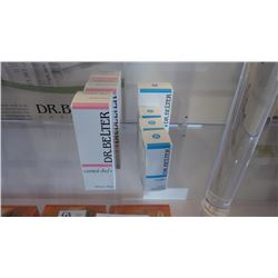 7 BOXES DR BELTER PRODUCTS, 1 DELICATE TONIC, 2 DELICATE CLEANSER, 2 MULTIACTIVE EYE SERUM, 1 MAKEUP