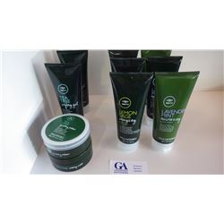 10 PCS IN TOTAL, ASSORTED BODY WASHES, MOISTURIZERS, LOTIONS, AND STYLING GELS