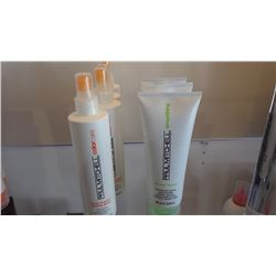 7 ITEMS, 3 STRAIGHT WORKS, 4 COLOR PROTECT LOCKING SPRAY