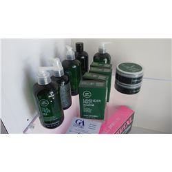11 TEA TREE PRODUCTS,ESSENTIAL OILS, POMADE, HAND SOAP, SHAMPOO,  THICKENING SPRAY