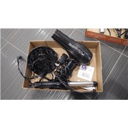 PAUL MITCHELL EXPRESS ION BLOW DRYER AND REVLON CURLING IRON