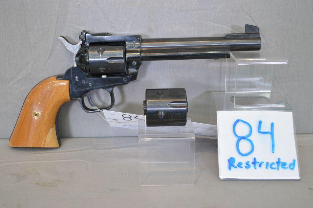Herbert Schmidt Mod 21S Texas Scout  22 LR cal &  22 Mag cal 6 shot