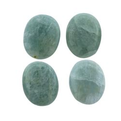 52.62 ctw Oval Cut Oval Cabochon Cut Natural Aquamarine Parcel