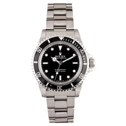 Gents Rolex Stainless Steel Submariner Wristwatch