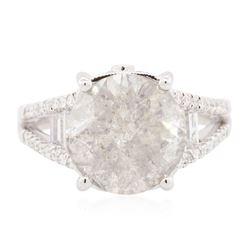 18KT White Gold 6.07 ctw Diamond Ring