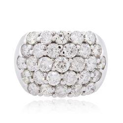 14KT White Gold 3.64 ctw Diamond Ring