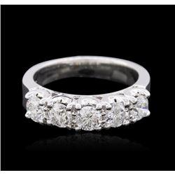 14KT White Gold 1.36 ctw Diamond Ring