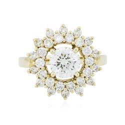 14KT Yellow Gold 2.86 ctw Diamond Ring