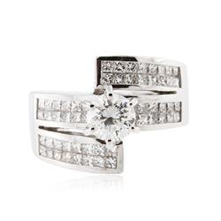 18KT White Gold 2.26 ctw Diamond Ring