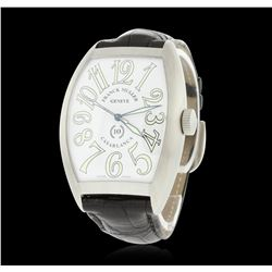 Franck Muller Casablanca Stainless Steel Wristwatch