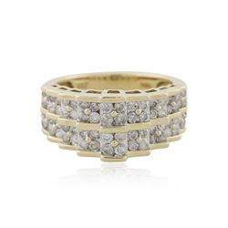 10KT Yellow Gold 1.00 ctw Diamond Ring