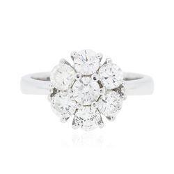 14KT White Gold 1.77 ctw Diamond Ring