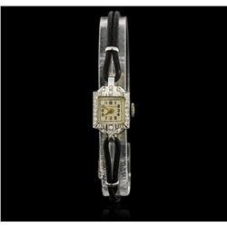 Ladies Vintage Wittnauer Diamond Wristwatch