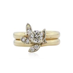 14KT Yellow Gold 0.60 ctw Diamond Ring