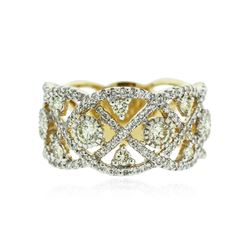 14KT Two-Tone Gold 1.24 ctw Diamond Ring