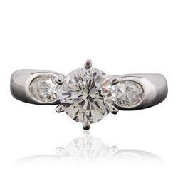 18KT White Gold 1.78 ctw Diamond Ring