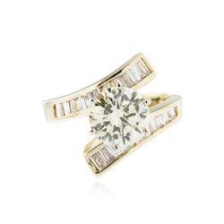 14KT Yellow Gold 2.38 ctw Diamond Ring