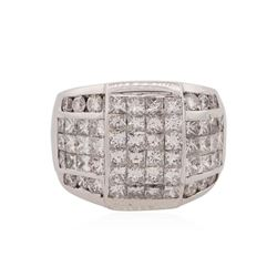 18KT White Gold 4.65 ctw Diamond Ring