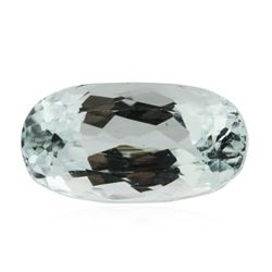 5.24 ctw Cushion Cut Natural Cushion Cut Aquamarine