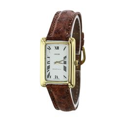 Tiffany & Co. 18KT Yellow Gold Vintage Wristwatch