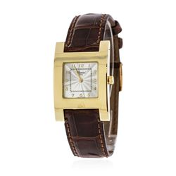 Chopard 18KT Yellow Gold H Square Wristwatch